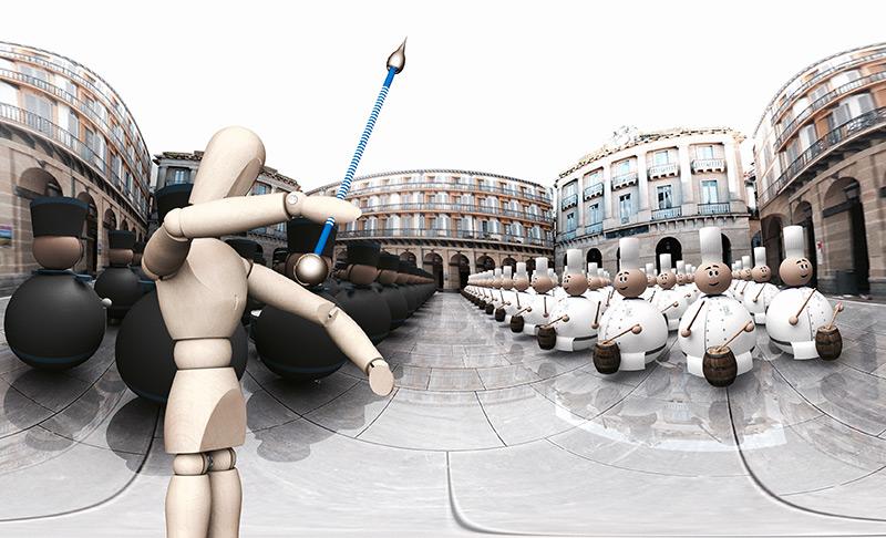 Tamborrada San Sebastian 2017 VR